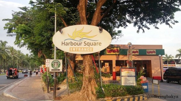 The entrance of Harbour Square.