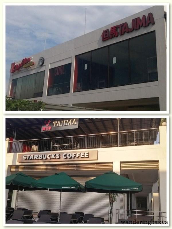 Tajima and Starbucks Coffee in Harbour Square