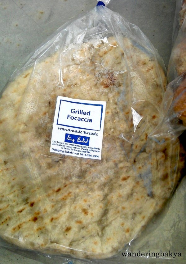 Gng. Bukid Grilled Focaccia