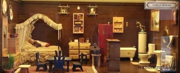 Miniature girls' room