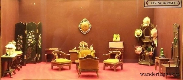 Miniature living room 1