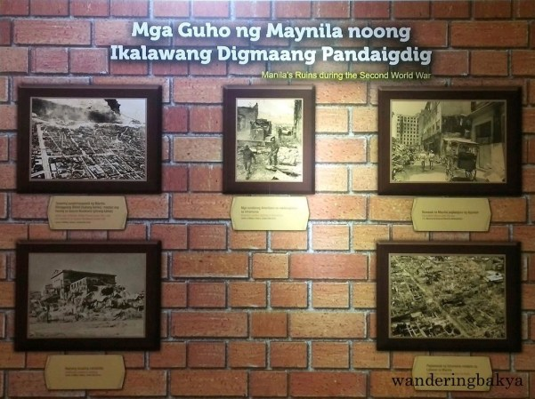 Photos of Manila's ruins during World War II.