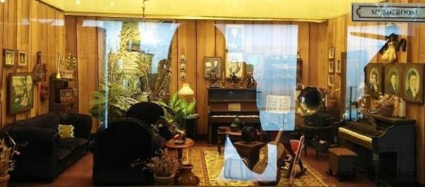 Miniature music room