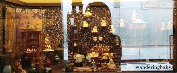 Miniature Oriental room 2