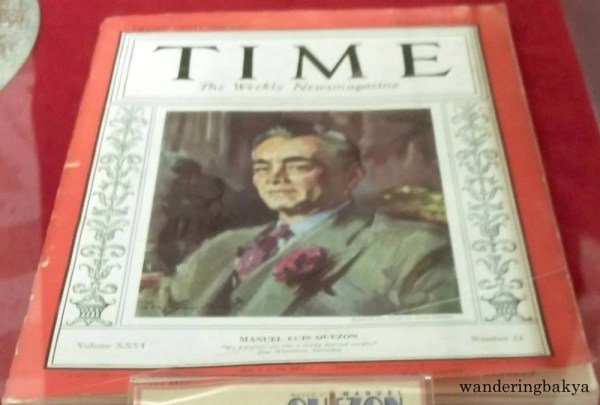 President Manuel L. Quezon graced the cover of the November 25, 1935 issue of Time Magazine to commemorate the inauguration of the Commonwealth.
