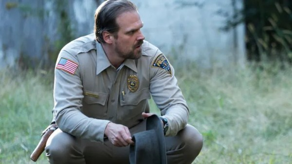 Stranger Things' Hawkins Police Department Chief Jim Hopper (David Harbour). Photo from zap2it.com