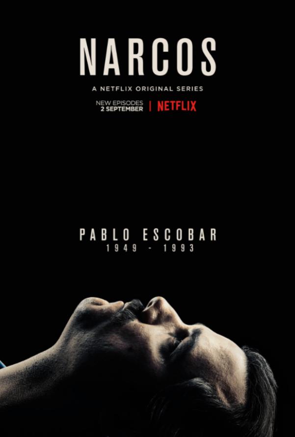 Poster of Netflix's Narcos – Season 2. Photo from flickeringmyth.com