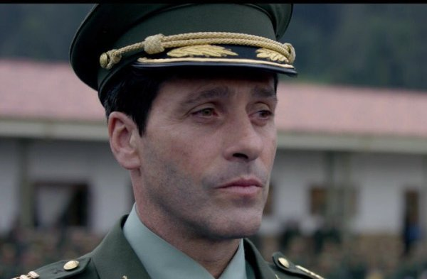 Narcos' Colonel Matinez (Juan Pablo Shuk). Photo from twitter.com