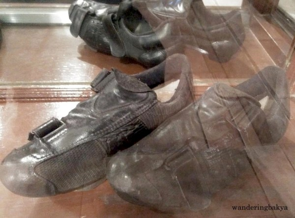 Shoes of Tour of Luzon Champion Cornelio Padilla, Jr