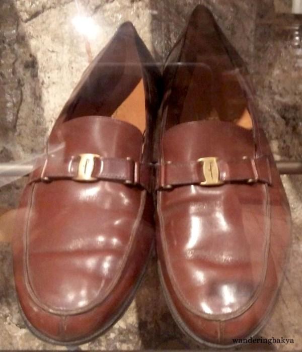 Shoes of Senator Ralph Gonzalez Recto