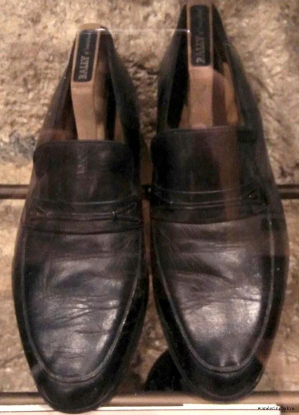 Shoes of 11th Vice President of the Philippines Teofisto Tayko-Guingona, Jr.
