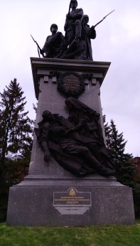 The Heroes of the First World War monument.