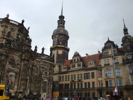 Dresden's architecture is a sight to behold!