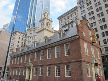 Matt Emerson WBNL Boston National Historic Park Old State House