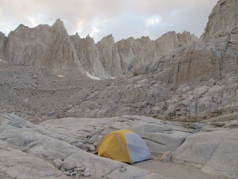 The Lunar Landscape of Mt. Whitney's Trail Camp