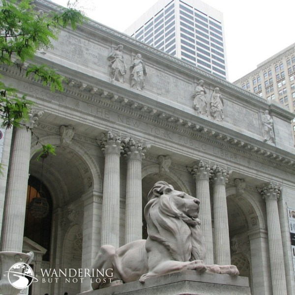 Patience and Fortitude at the NYC Public Library