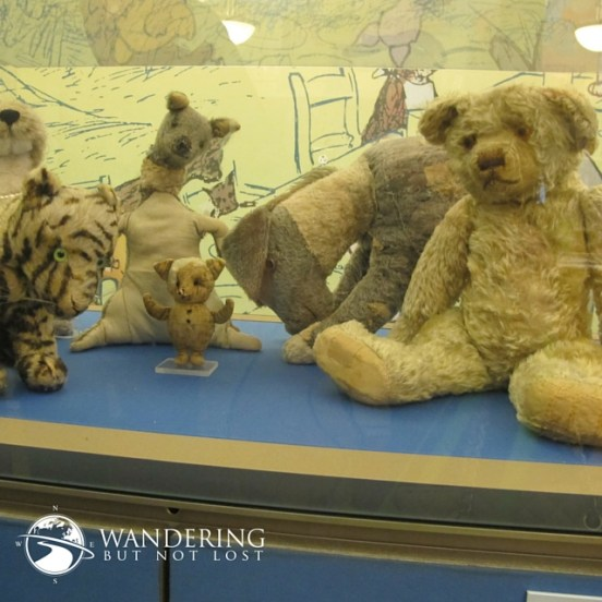 Winnie the Pooh & Tigger Await You at the NY Public Library