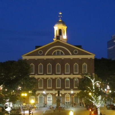 Matt Emerson WBNL Boston Faneuil Hall