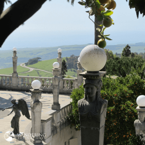 Matt Emerson WBNL Hearst Castle - Garden View to the Sea