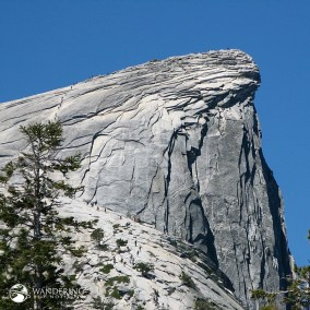 Half Dome from the North Side