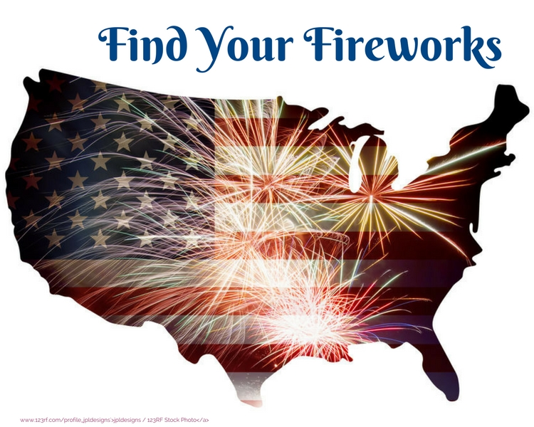 Find Your Fireworks!