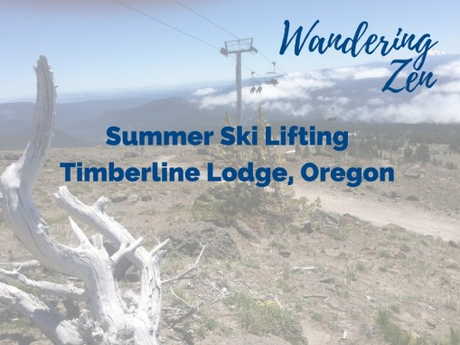 Wandering Zen – Summer Ski Lifting