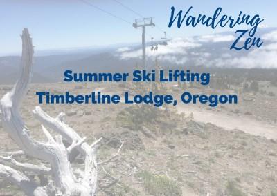 Wandering Zen – Summer Ski Lifting