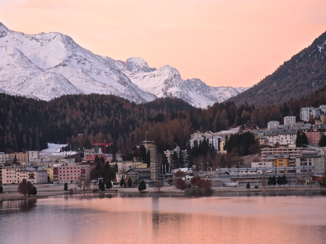 Blogging from the road, St Moritz, Switzerland, beautiful landscape