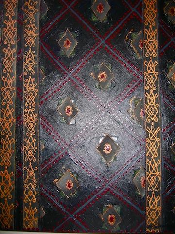 Tudor fabric inspired by Anne Boleyn and Henry VIII