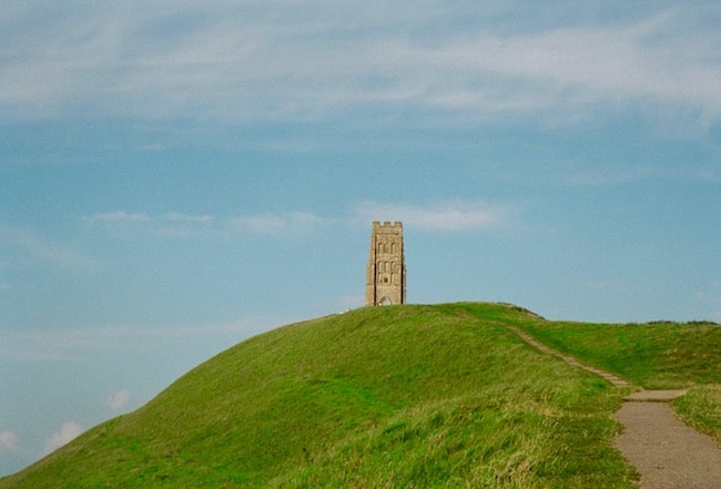 Mystical places in England Glastonbury Tor
