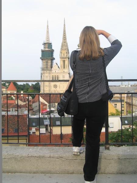 Solo traveler in Zagreb
