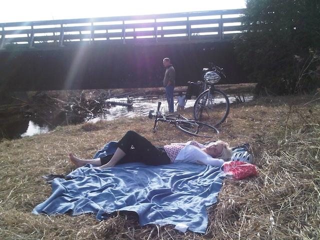 Cycling Caledon Trail Carol