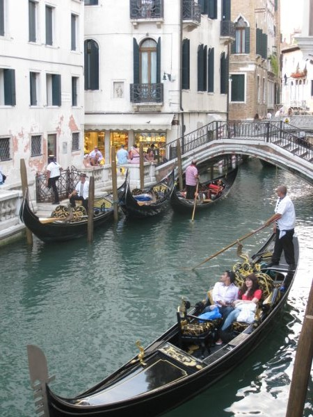 Is Venice romantic, or is a gondola only for couples
