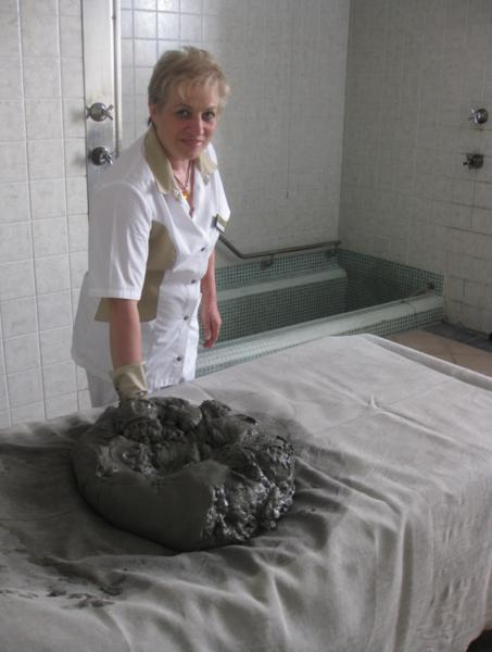 The search for an Italian spa, mud bath