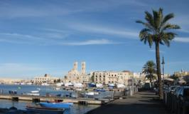 Visiting Puglia, Italy: fishing village of Molfetto in the harbor