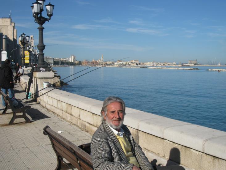 Photo tour of Puglia, man in Molfetta