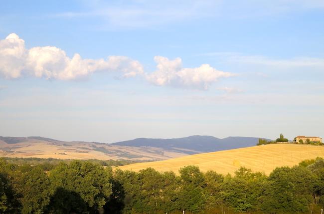 Tuscany countryside