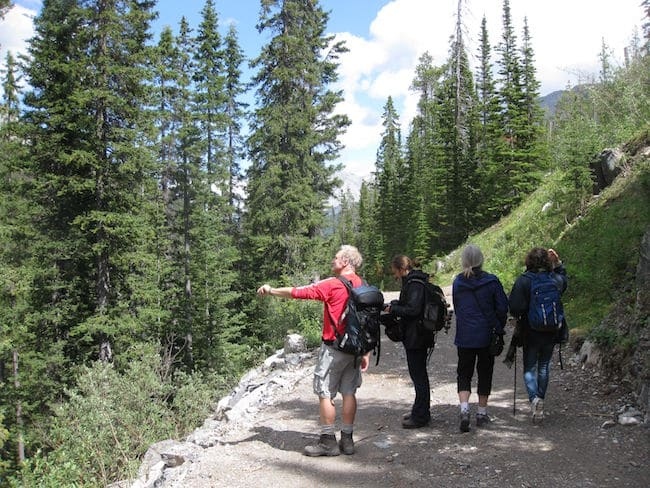 Banff narrative journalism hike