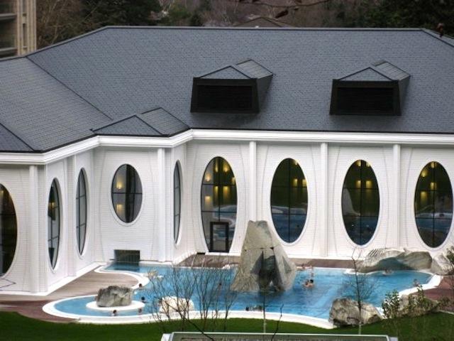 Bad Ragaz thermal pools Swiss spas wellness in Switzerland