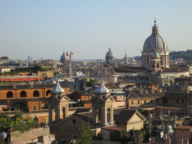 Nice view of Rome, Italy