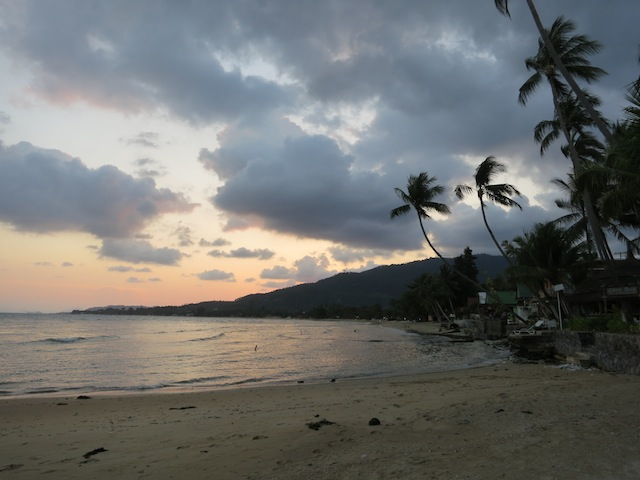 Soul searching in Thailand, walks on beach
