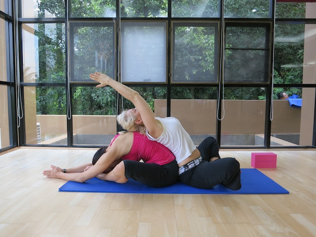 Faking it. I am the only person who hates yoga?