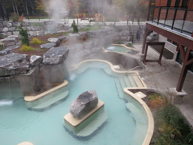 Quebec Nordic spas, Kinipi Spa and Bains Nordiques in Trois-Rivieres
