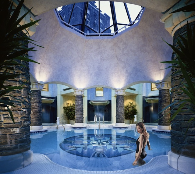 Spa vacations and spa press trips Willow Stream Spa Banff Springs