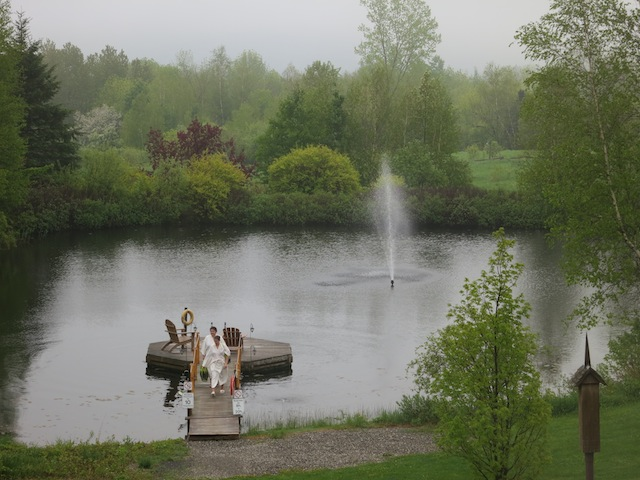 A misty day at Spa Eastman