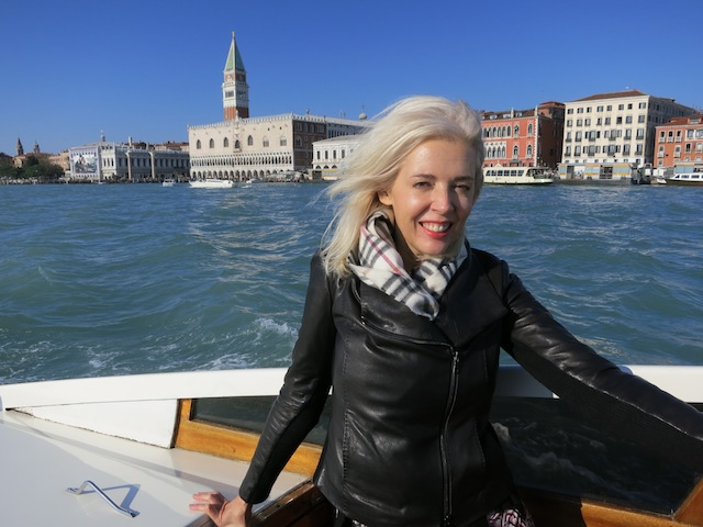 I am too worthy! I'm in a private speedboat going to Murano to look at chandeliers
