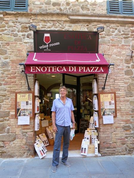 Brunello wine and wine tasting in Montalcino Italy