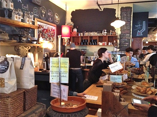 Best cafe in Old Montreal