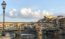 Ponte Vecchio on a sunny day in Florence Italy