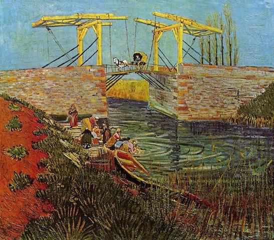 Langlois Bridge Arles Provence France by Vincent van Gogh